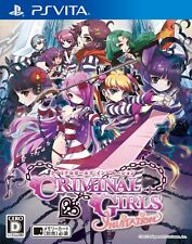 NEW Criminal Girls INVITATION [Japan Import] PS Vita / PlayStation Vita Game