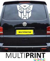 LARGE VW Transporter Transformer Volkswagen Camper Van Decal Sticker T4 T5 VAN8