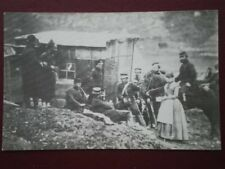 POSTCARD 4TH DRAGOON GURDS 1855 PARTY & ENGLISH & FRENCH TROOPS
