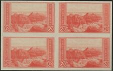SC SC 757 2 CENT NATIONAL PARKS ISSUE  BLOCK OF 4---67
