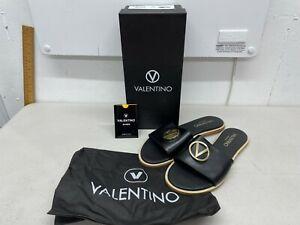 Valentino Bugola Sandals - Black - US Size 9