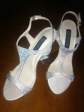 """""""FOREVER NEW"""" CRYSTAL TRIM STILETTO SIZE 38"""