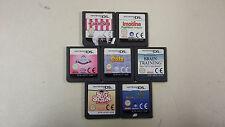 7x Nintendo DS Spiele - NDS - kein Schrott - Sammlung