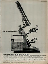 1961 Benson and Hedges Cigarettes Microscope You Get More  Vintage Print Ad 1988