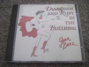 JOAN BAEZ Diamonds And Rust In The Bullring  CD  1989  GOLDCASTLE  mint