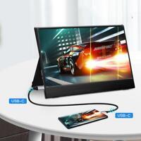 "15.6"" HD 2K IPS Display Gaming Monitor Same Screen Portable TYPE-C HDMI for XBOX"