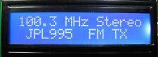 FM EXCITER STEREO PLL TRANSMITTER 1 WATT 87.5 - 108 Mhz BROADCAST NEW