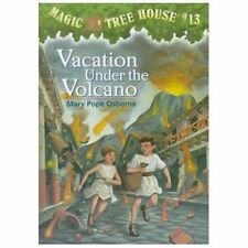 Magic Tree House #13: Vacation Under the Volcano-ExLibrary