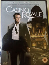 DANIEL CRAIG AS JAMES BOND 007 Casinò Royale UK 2-Disc DVD