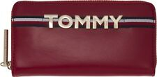TOMMY HILFIGER Zip Around Wallet Tommy Red