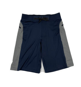 Hylete Mens Helix Shorts Size Small Blue Gray Athletic Gym Cross Fit NWOT