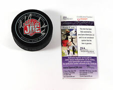Nicklas Lidstrom Signed Official NHL Hockey Puck Red Wings JSA Auto