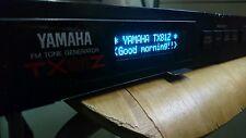 YAMAHA SPX90/TX81Z display OLED!