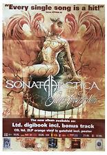 SONATA ARCTICA Stones Grow Her Name Promo Poster gefaltet / folded  Sammlerstück