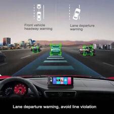 "Dual Lens 7"" HD 1080P Car DVR Rearview Camera Dash Cam Recorder GPS Navigation"