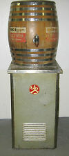 Antique Vintage Richardson Root Beer soda dispenser machine and barrel and tray