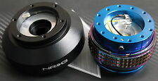 NRG STEERING WHEEL QUICK RELEASE HUB 2.1 BLUE-NEO FOR BMW E30 FITS:BMW