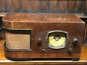 Vintage Truphonic Radio Limited Valve Radio for Parts or Repair [6774]