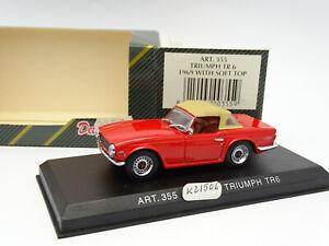 Detail Cars 1/43 - Triumph TR6 1969 Soft Top Red