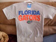 NCAA FLORIDA GATORS TSHIRT NWT SZ.S GRAY SHIRT FL.GATORS SZ.SMALL