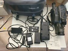 Canon Canovision 8 E40 Camcorder with Accessories- Batteries, Charger, Case etc.