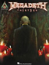Megadeth - Th1rt3en (2012, Sheet Music)