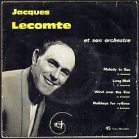 JACQUES LECOMTE ET SON ORCHESTRE  RARE 45T JAZZ EP BIEM DMF 26.392 MELODY IN SAX