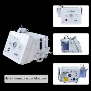 2 in 1 Hydra Dermabrasion Diamond Microdermabrasion Hydropeel Cleansing Machine