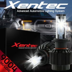 XENTEC LED HID Headlight Conversion 9004 HB1 6000K 1985-1998 fit Nissan Sentra