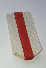 Ruban en taille ordonnance pour Médaille de la Croix-Rouge, France