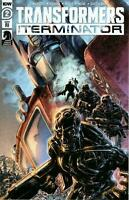 Transformers Vs Terminator #2 (Of 4) 1:10 Variant (2020 Idw) Williams II Cover