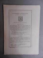 Généalogie - Famille : De Chabot-De Souville.