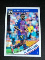 2018-19 Panini Donruss Optic Soccer Samuel Umtiti FC Barcelona #6