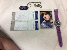 Justin Bieber 2010 Tour Items (5) Items