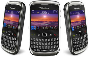 BlackBerry Curve 9300-GREY(UNLOCKED-AT&T,)GOOD CONDITION-WITH WARRANTY