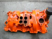 1957 chevy four barrel intake 3731398 A 21 57 for wcfb @ 4-GC carbs