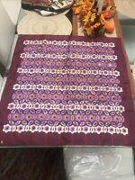 "Vintage 1960's Psychedelic Floral Silk Vera Neumann Ladybug Scarf 26"" Square Htf"