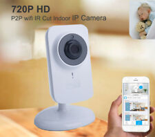 720P HD Wireless Network IP Camera Two-way Audio Baby Monitor IR-Cut Android iOS