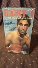 Ricky 1 vhs Rare 80s Rocky Spoof Comedy Tapeworm Video Cassette Boxing