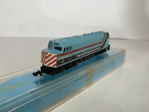 B33 Model Power N Scale Model Trains Powered RTA F40PH Diesel Locomotive