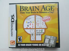 Brain Age: Train Your Brain in Minutes a Day (Nintendo DS, 2006) Tested--NTSC