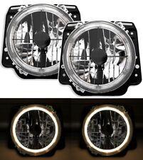 Angel Eyes Scheinwerfer Set mit Fadenkreuz für VW GOLF 2 II 19E Klarglas 960321