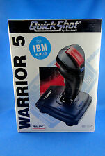 QuickShot Warrior 5 (QS123A) Video Games Controller - Brand New Sealed - Unique