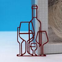 Wine Glasses Metal Cutting Dies DIY Scrapbooking Album Cards Mold Craft Stencil