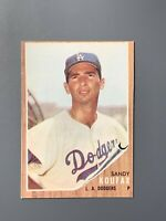 1962 Topps #5 Sandy Koufax EXMT Los Angeles Dodgers HOF