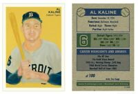 Al Kaline HOF Detroit Tigers Limited Edition Art Baseball Card ACEO 1-100