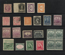 Canada   Provinces  nice lot mostly  mint  stamps    MS0226