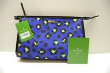 KATE SPADE IRIS  PWRU3944 EMPEROR BLUE 425 NYLON COSMETIC CASE - $88 RETAIL