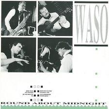 WASO Round About Midnight Vinyl Record LP Belgium Cirkel CP 87/380 1987 EX 1st