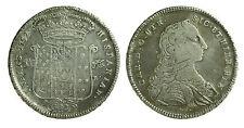 pci0634) Napoli Carlo di Borbone Piastra 120 grana 1752 (ex montatatura ?)